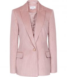 Carie Corduroy Tailored Jacket by Reiss at Reiss