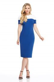 Carly Midi Dress by Maggy London at Amazon