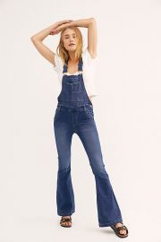 Carly Overalls at Free People