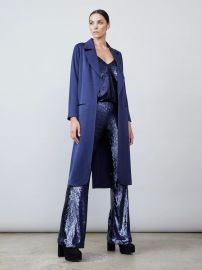 Carmen Satin Jacket at Allen Schwartz