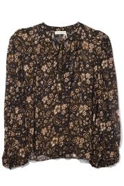 Carmine Blouse In Forest at Hampden