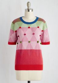 Carnival of Likes Sweater  x at ModCloth