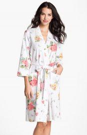 Carole Hochman Designs Floral Print Robe at Nordstrom