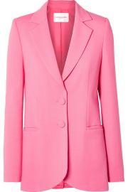 Carolina Herrera - Wool blazer at Net A Porter