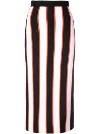 Carolina Herrera Striped Pencil Skirt at Farfetch