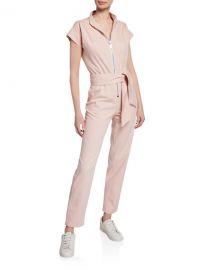 Carolina Ritzler Soul Cap-Sleeve Jumpsuit at Neiman Marcus