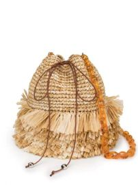 Carolina Santo Domingo Fringed Bucket Bag - Farfetch at Farfetch