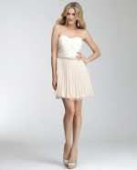 Carolines pleated dress from Bebe at Bebe