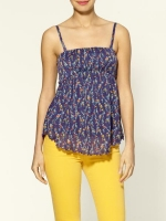 Carolines printed tube top by Free People at Piperlime