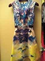 Carrie's dress on Ebay at H&m