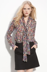 Carries floral blouse at Nordstrom at Nordstrom