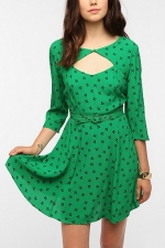 Carrie's green dress at Urban Outfitters at Urban Outfitters