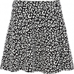 Carrie's leopard skirt at Riverisland