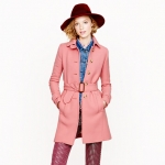 Carrie's pink coat at J. Crew