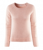 Carrie's pink sweater from HandM at H&m