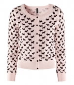 Carrie's scottie dog printed sweater at H&m