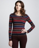 Carrie's striped Marc Jacobs sweater at Bergdorf Goodman