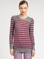 Carrie's striped Marc Jacobs sweater at Saks at Saks Fifth Avenue