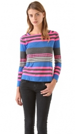 Carrie's striped top by Marc Jacobs at Shopbop
