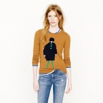 Carries sweater at J Crew at J. Crew