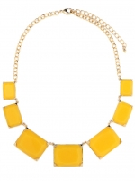 Carrie's yellow necklace at Baublebar at Baublebar