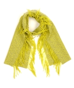 Carrie's yellow scarf at Echo