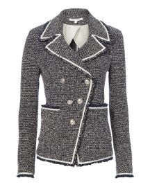 Carroll Boucl eacute  Knit Jacket at Intermix