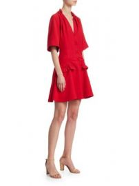 Carven - Darted Mini Dress at Saks Fifth Avenue