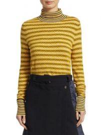 Carven - Textured Turtleneck Pullover at Saks Fifth Avenue