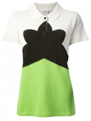 Carven Colour Block Polo Shirt - Francis Ferent at Farfetch