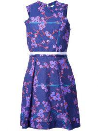 Carven Floral Print Dress at Farfetch