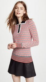 Carven Polo Sweater at Shopbop