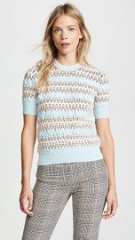 Carven Short Sleeve Sweater at Shopbop