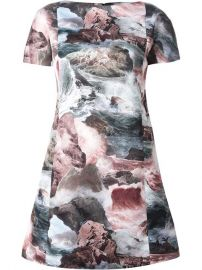 Carven and39ocean Stormand39 Print Dress - Une Femme and192 Suivre at Farfetch