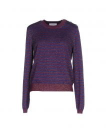 Carven striped sweater at Yoox