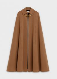 Cashmere Cape Coat by Celine at Celine