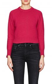 Cashmere Crop Sweater at Barneys Warehouse