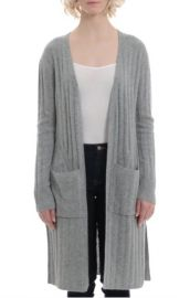 Cashmere Duster by Minnie Rose at Envy