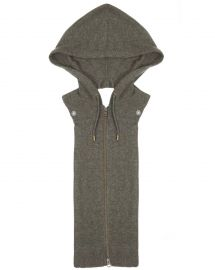Cashmere Hoodie Dickey at Veronica Beard
