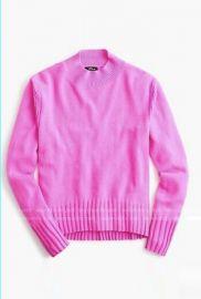 Cashmere Mockneck Sweater by J. Crew at J. Crew