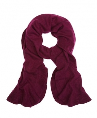 Cashmere Ruffle Scarf at Brooks Brothers