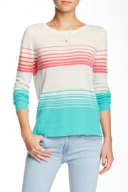 Cashmere Striped Sweater at Nordstrom Rack