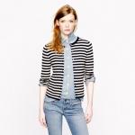 Cashmere striped cardigan at J. Crew