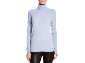 Cashmere turtleneck at Bloomingdales