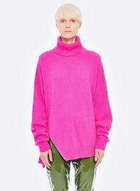 Cashmere turtleneck sweater at Tibi