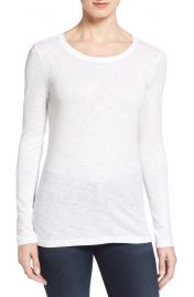 Caslon   Long Sleeve Crewneck Tee  Regular  amp  Petite    Nordstrom at Nordstrom