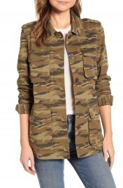 Caslon   Cotton Utility Jacket   Nordstrom at Nordstrom
