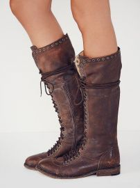 Caspian Tall Lace Up Boot at Free People
