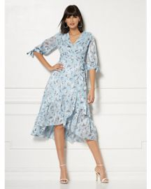Cassidy Floral Wrap Dress by New York & Company at New York & Compay