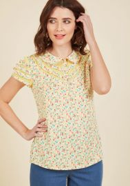 Cater to Your Quirk Top at ModCloth